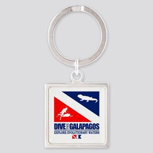 Dive The Galapagos Keychains